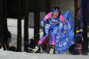 Российские биатлонистки пятые в кубке наций
